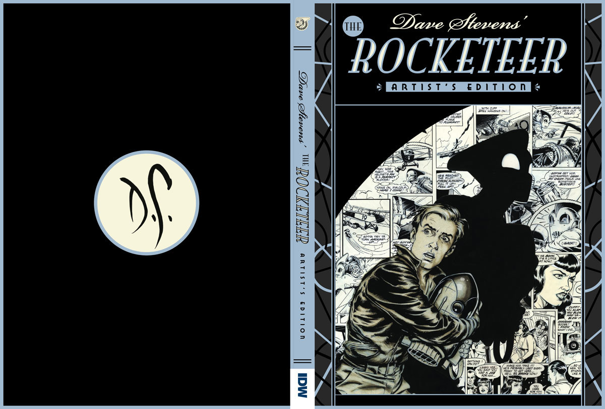 Dave Stevens The Rocketeer Artists Edition cover spread