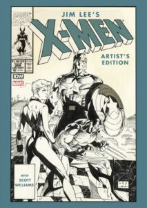 Jim Lees X Men Artists Edition cover