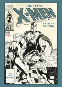 Jim Lees X Men Artists Edition cover