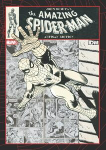 John Romita's The Amazing Spider Man Artisan Edition cover