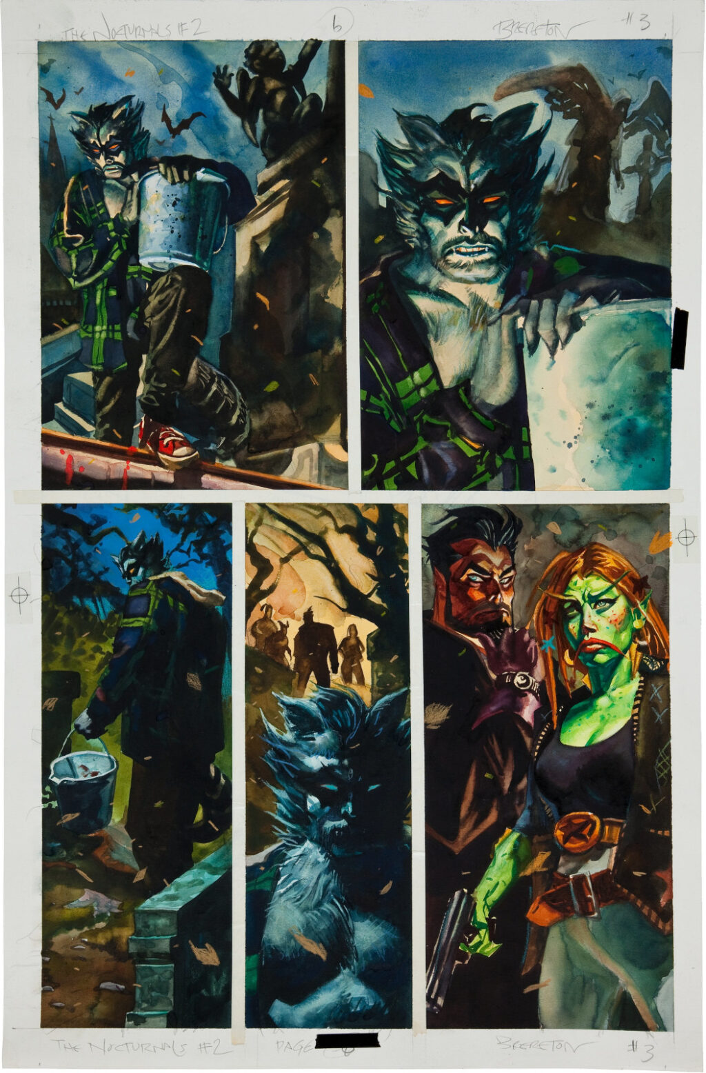 Nocturnals issue 2 page 6 by Dan Brereton