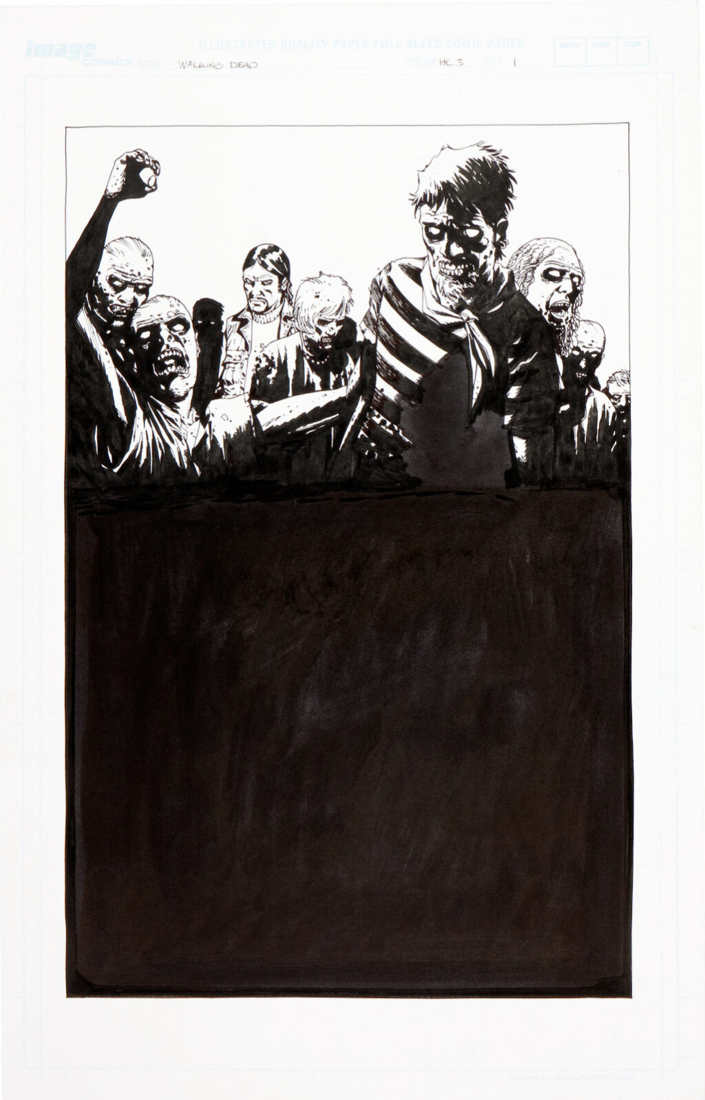 The Walking Dead Book 3 cover by Charlie Adlard