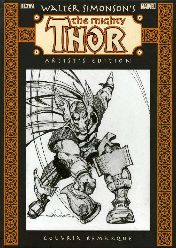 Walter Simonsons The Mighty Thor Artists Edition Remarque 1