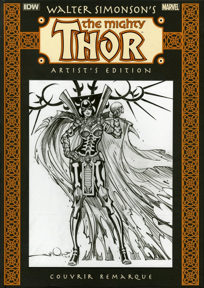 Walter Simonsons The Mighty Thor Artists Edition Remarque 2