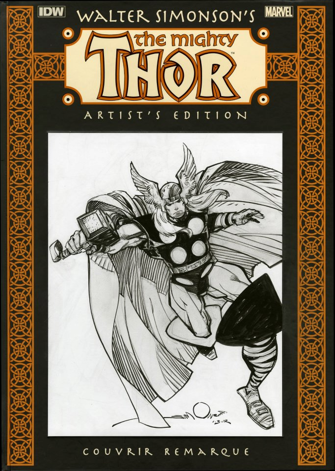 Walter Simonsons The Mighty Thor Artists Edition Remarque 3