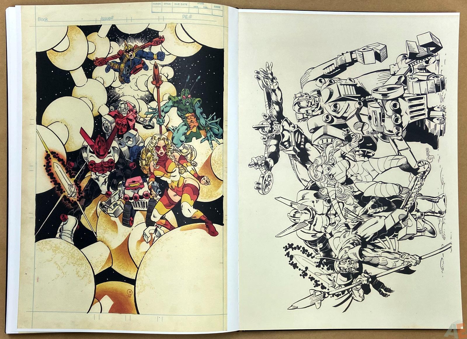 Michael Goldens Micronauts Artists Edition interior 16
