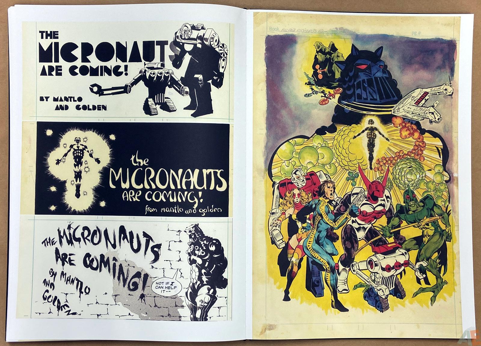 Michael Goldens Micronauts Artists Edition interior 17