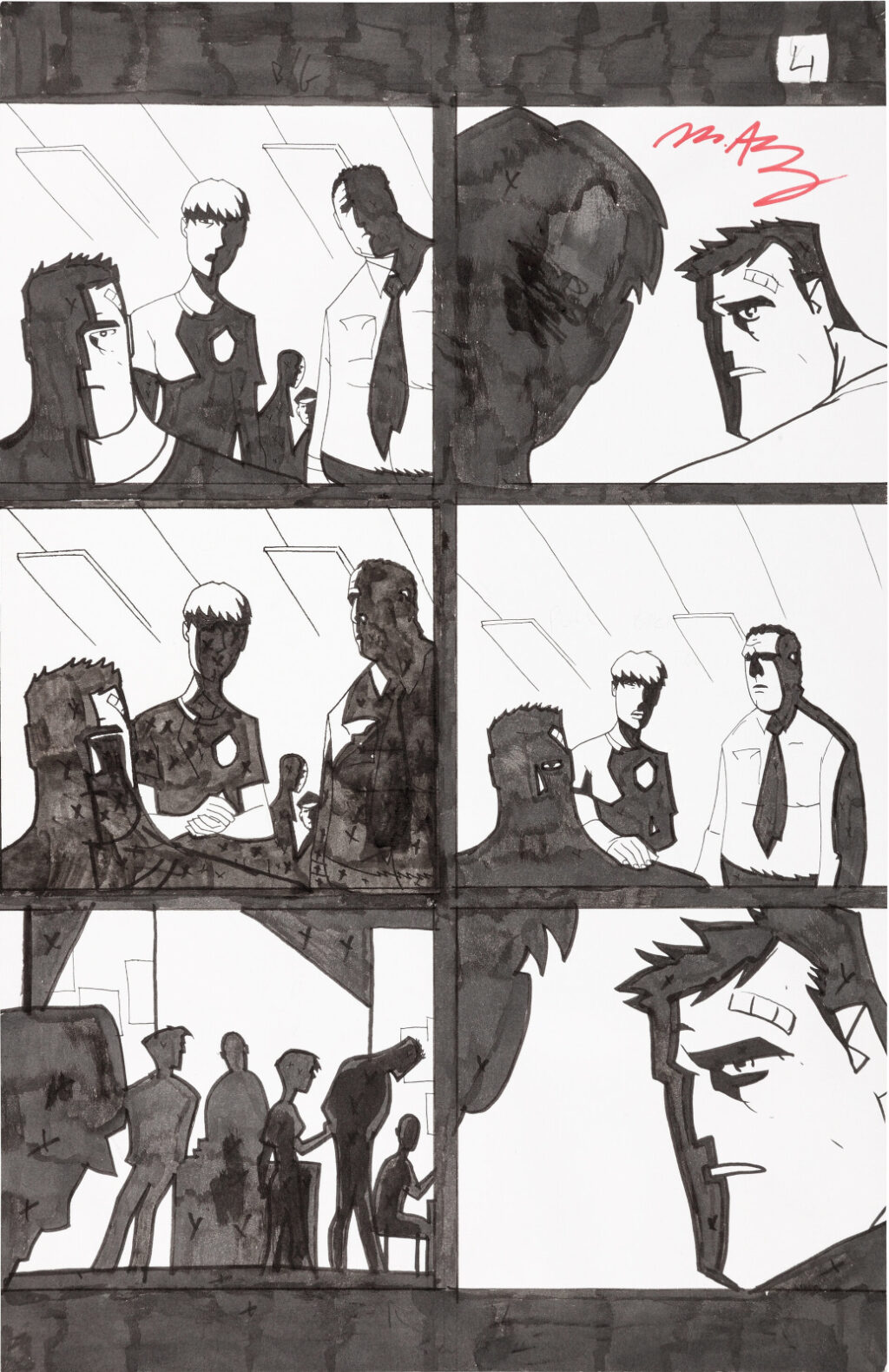 Powers issue 18 page 4 by Michael Avon Oeming