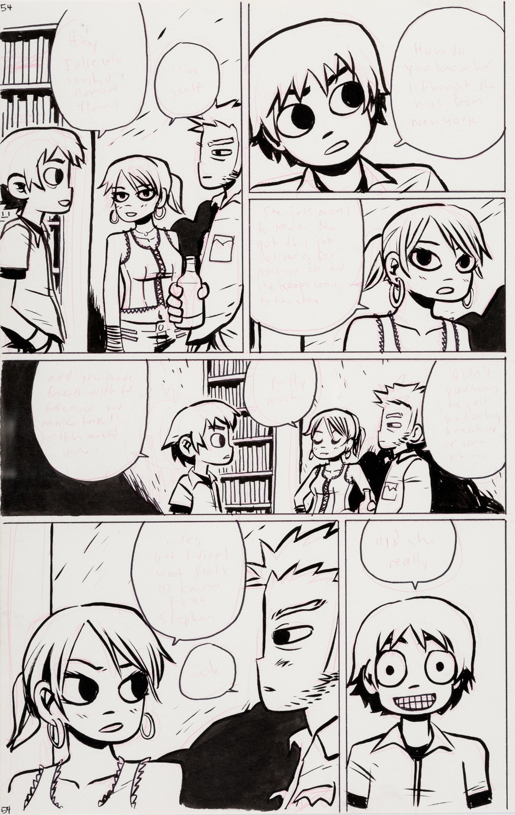 Scott Pilgrim issue 1 page 62 by Bryan Lee OMalley