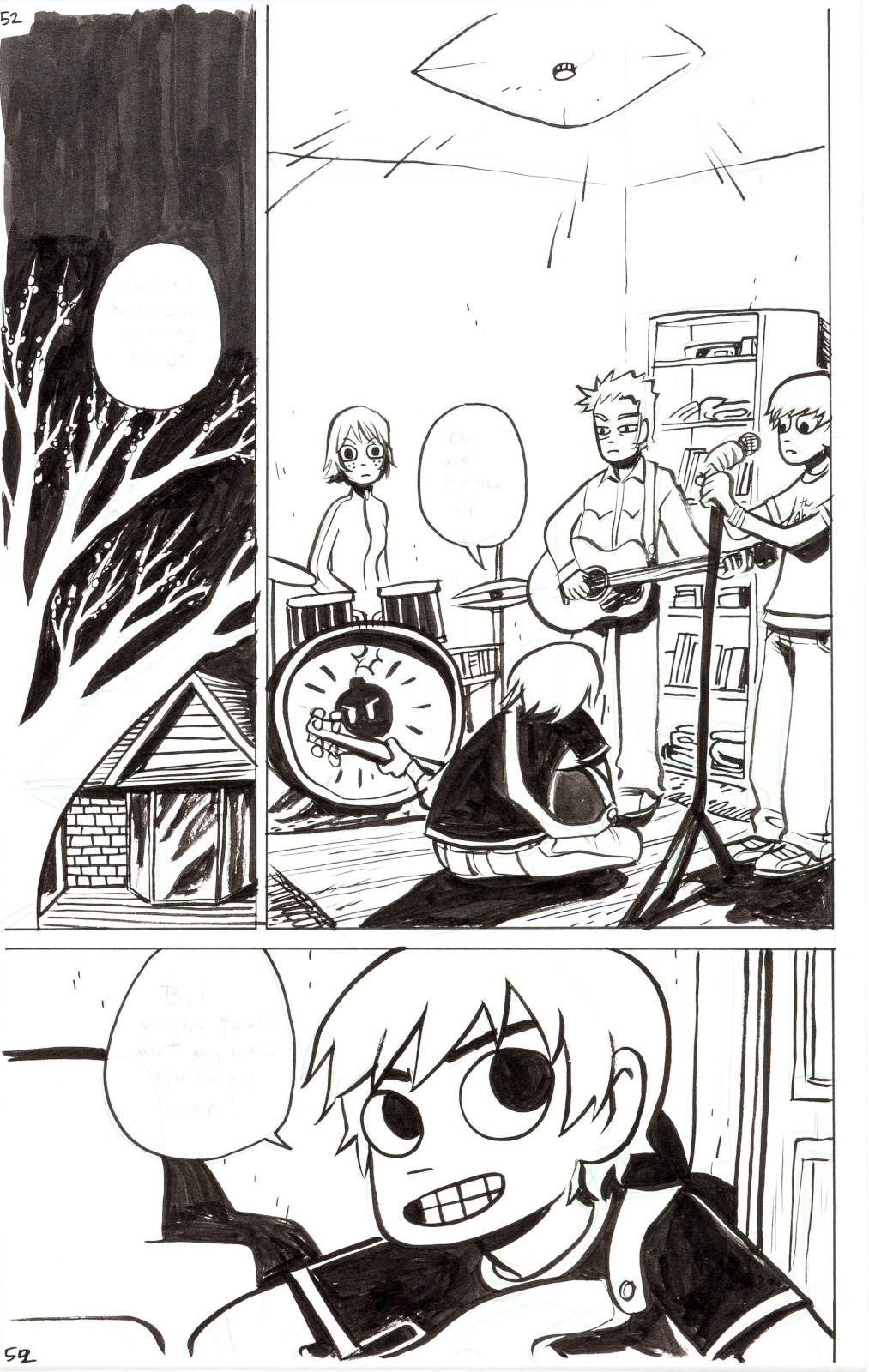 Scott Pilgrim issue 2 page 52 by Bryan Lee OMalley