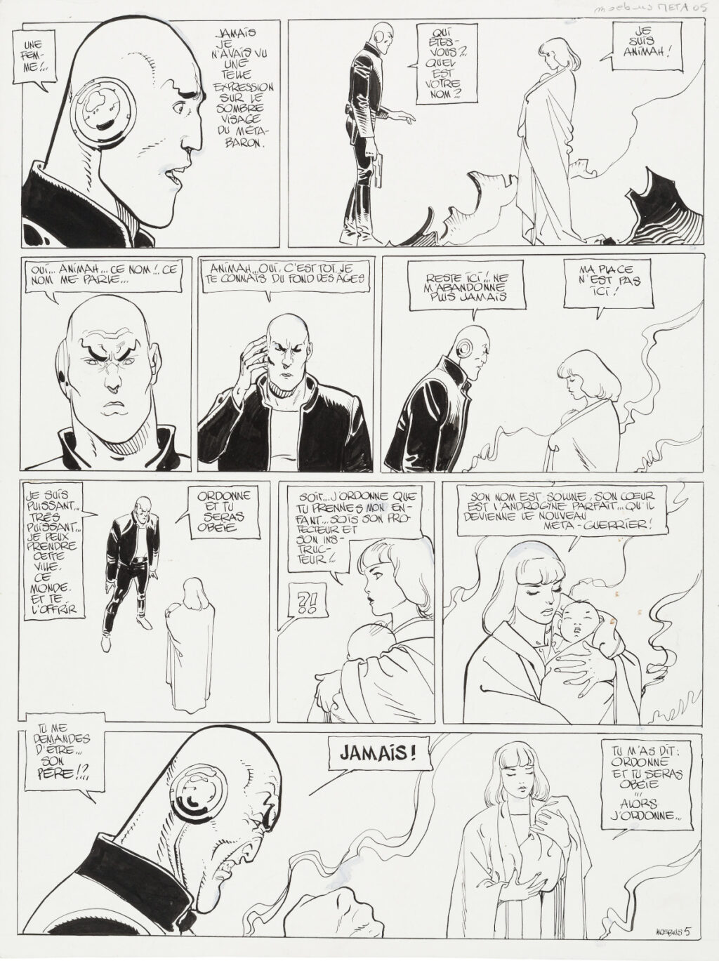 The Mysteries of The Incal page 5 by Moebius
