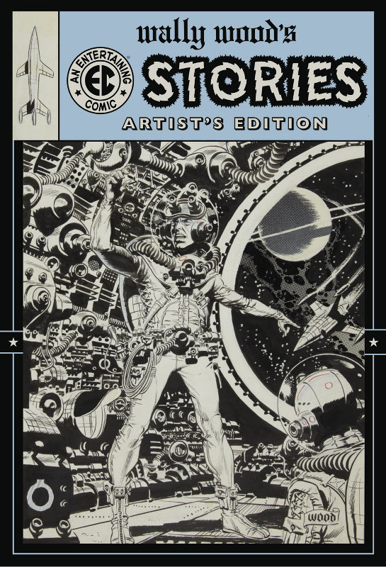 Wally Woods EC Stories Artists Edition announcement cover
