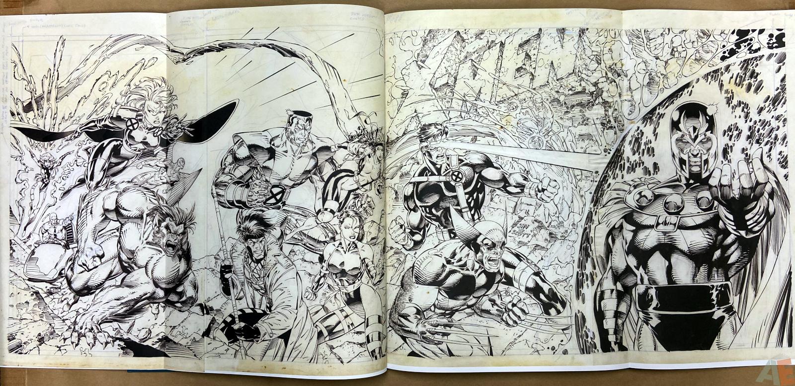 Jim Lees X Men Artists Edition interior 11