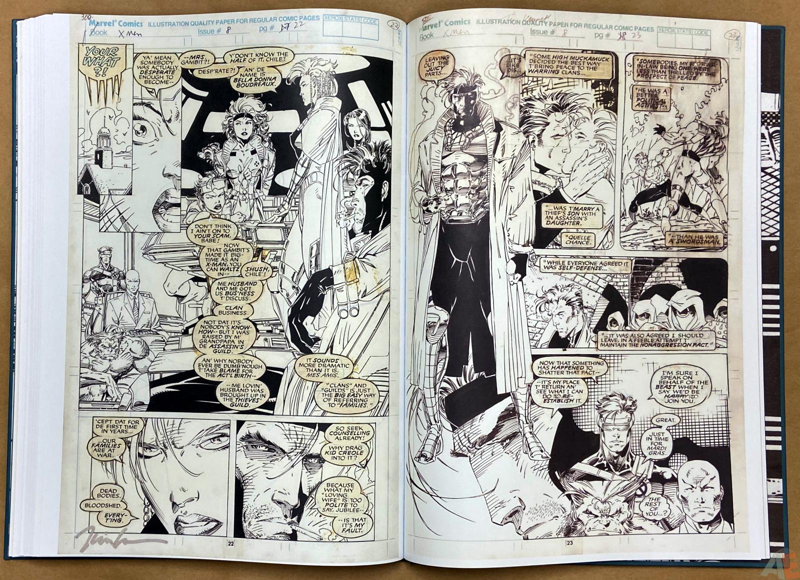 Jim Lees X Men Artists Edition interior 18
