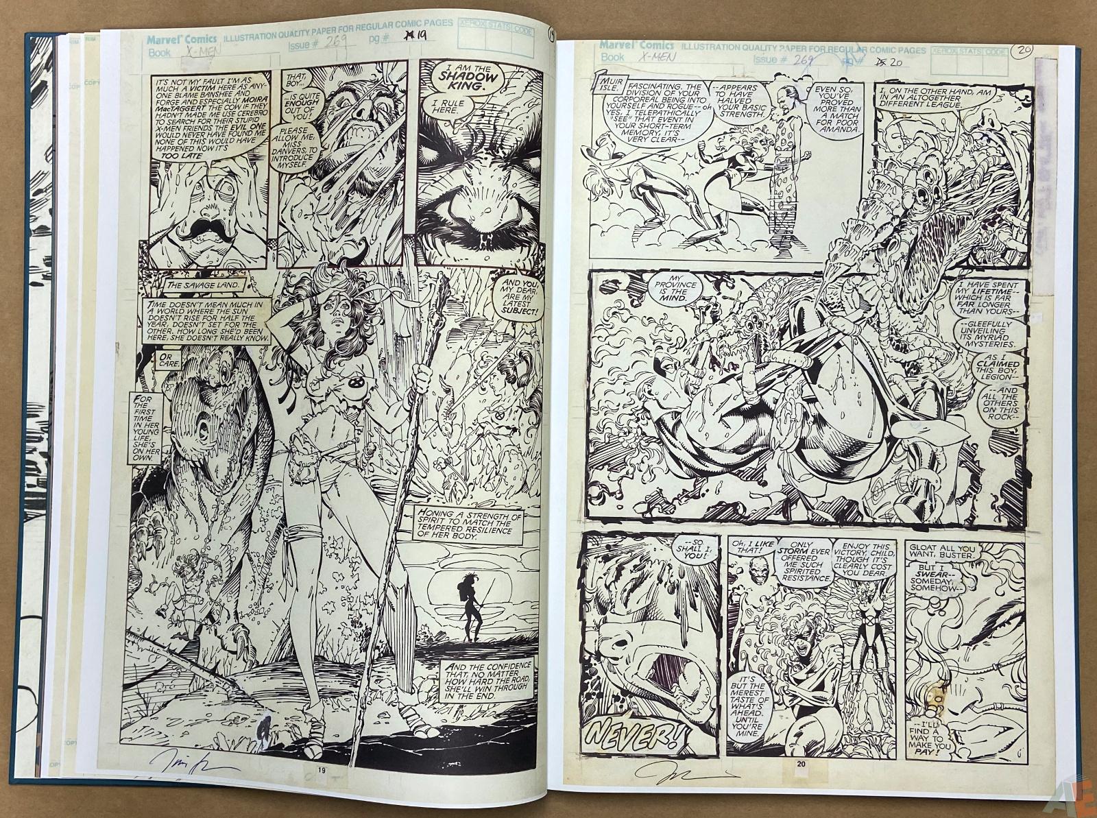 Jim Lees X Men Artists Edition interior 7