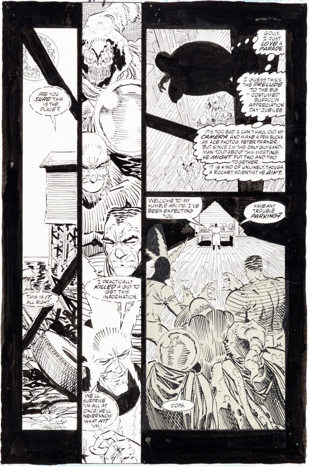 Spider Man issue 18 page 21 by Erik Larsen