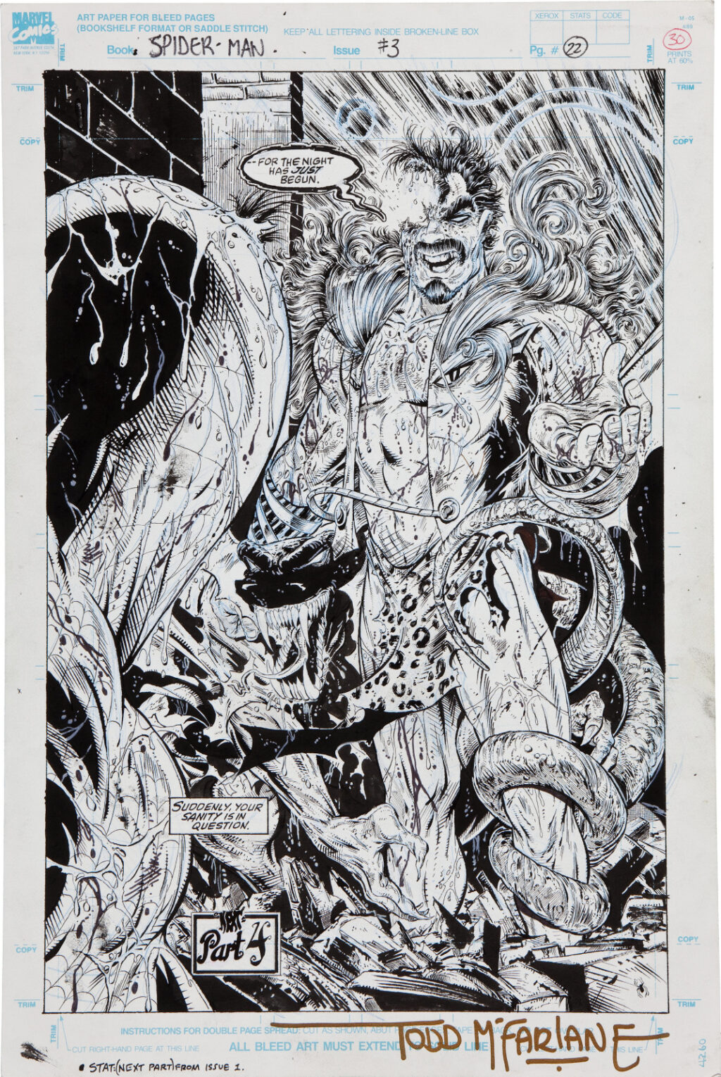Spider Man issue 3 page 22 by Todd McFarlane