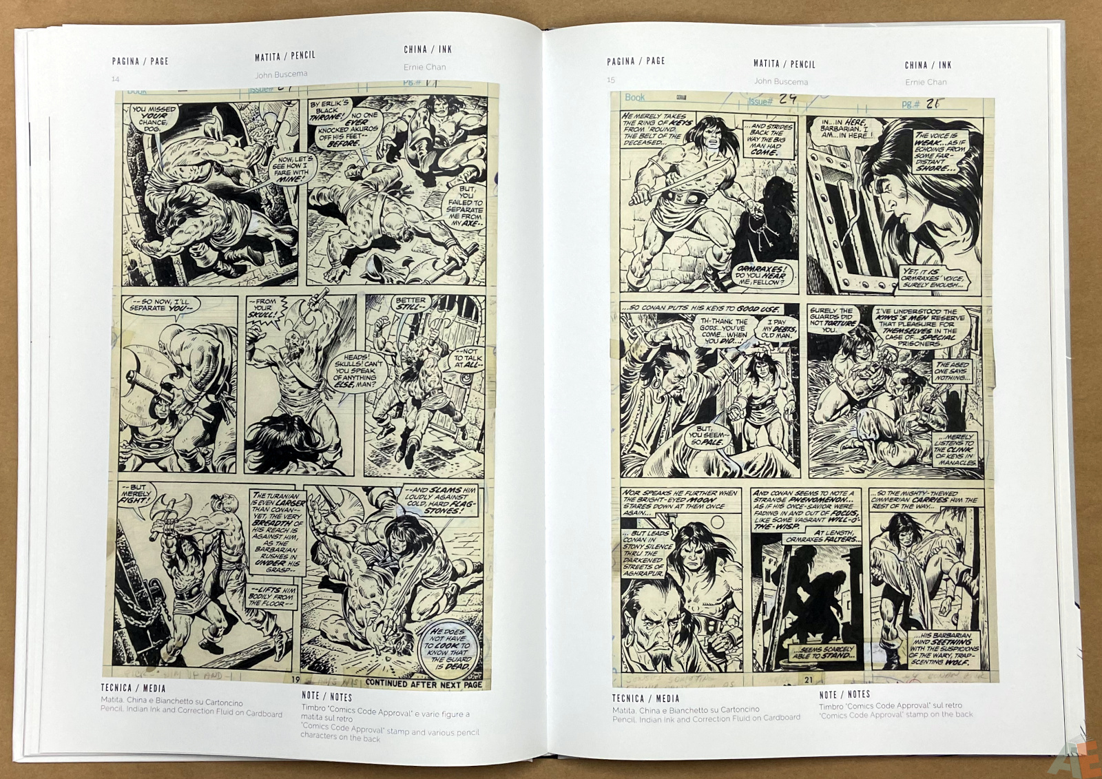 The World of John Buscema Cart Gallery Masters Books 1 interior 10