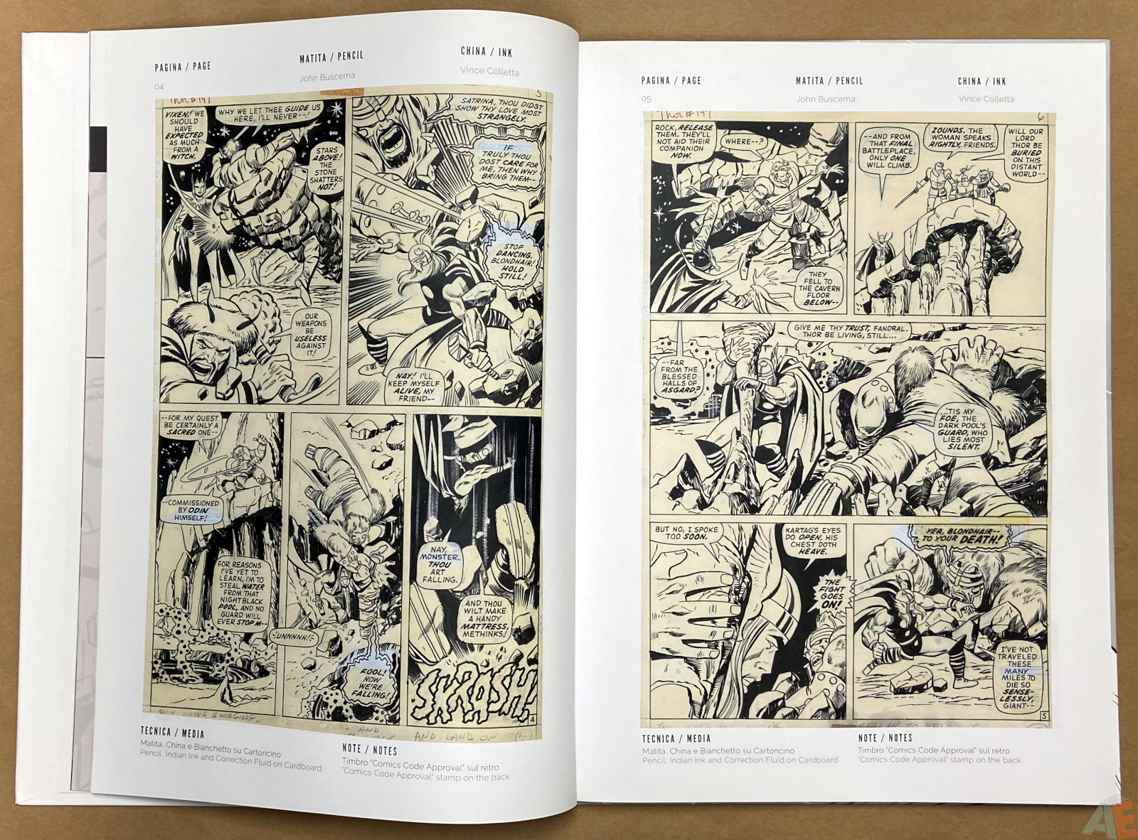 The World of John Buscema Cart Gallery Masters Books 1 interior 4