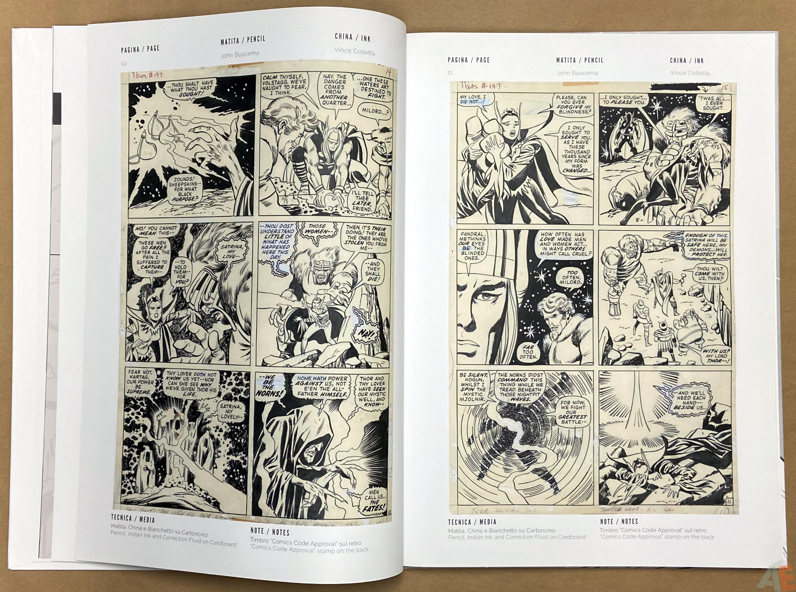 The World of John Buscema Cart Gallery Masters Books 1 interior 5