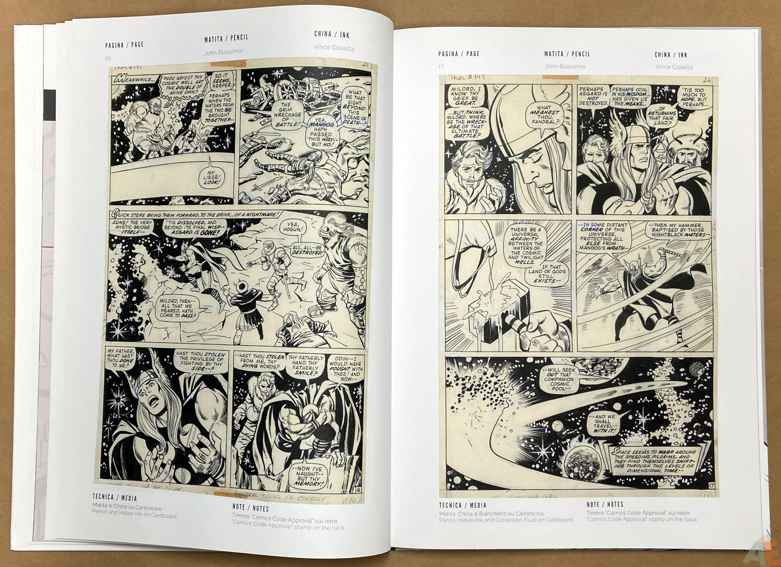 The World of John Buscema Cart Gallery Masters Books 1 interior 6