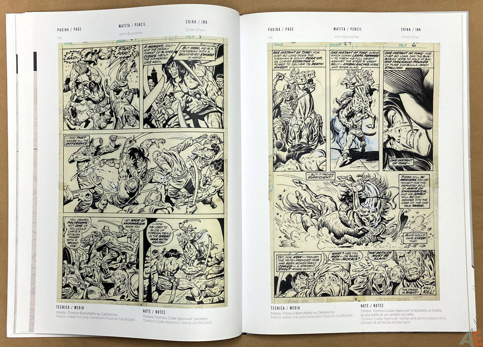 The World of John Buscema Cart Gallery Masters Books 1 interior 8