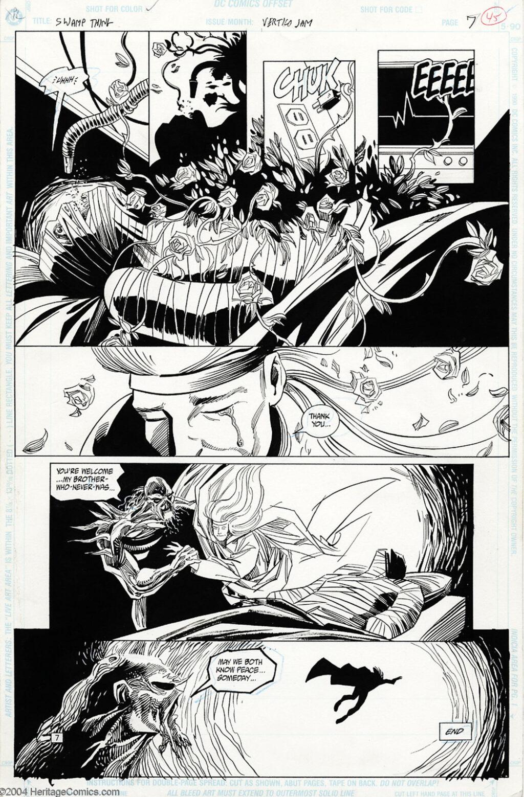 Vertigo Jam page 7 by Phil Hester and Kim DeMulder