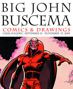 Big John Buscema Comics and Drawings cover