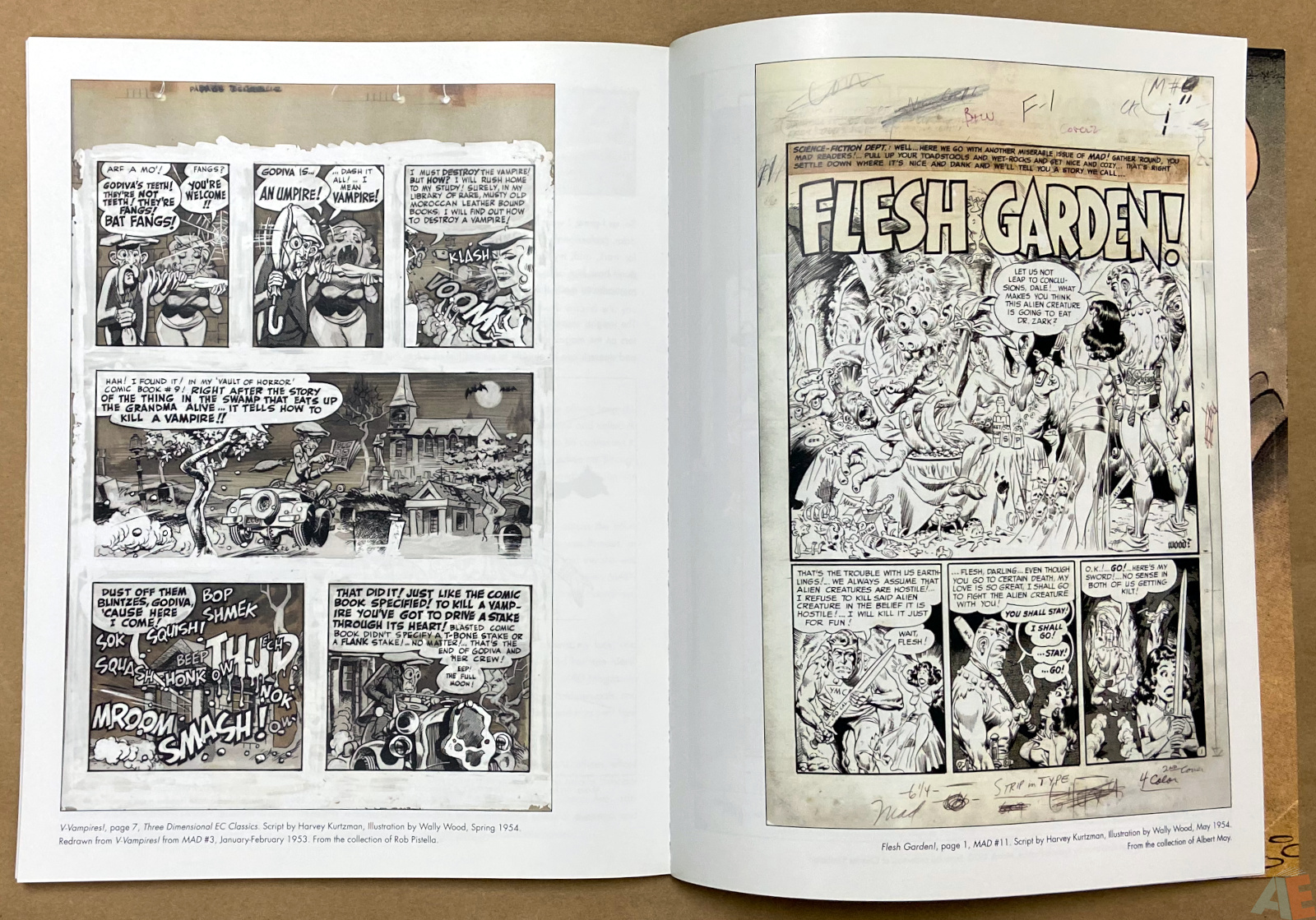 Tales From The Crypt Exhibition Catalog interior 11