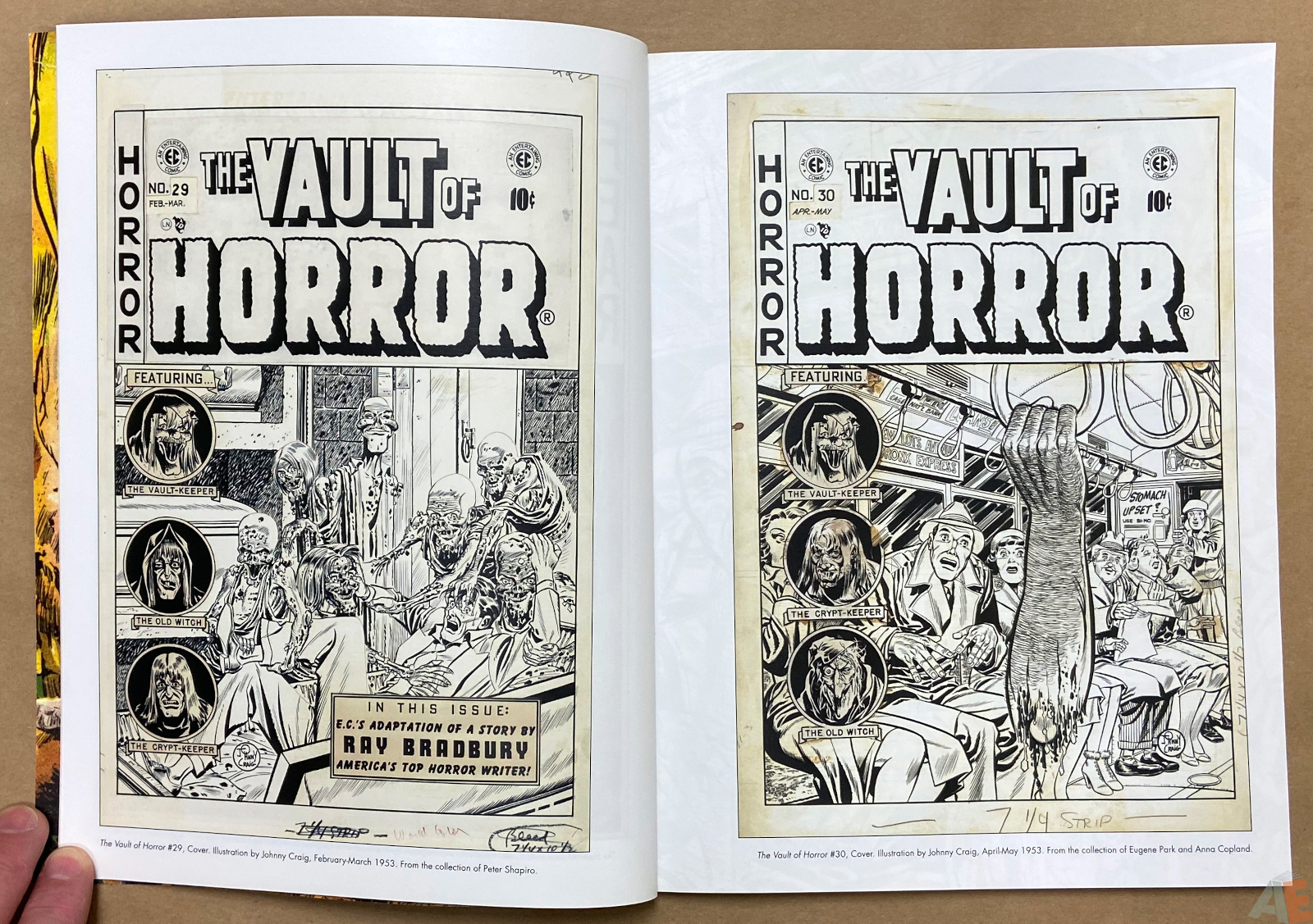 Tales From The Crypt Exhibition Catalog interior 3