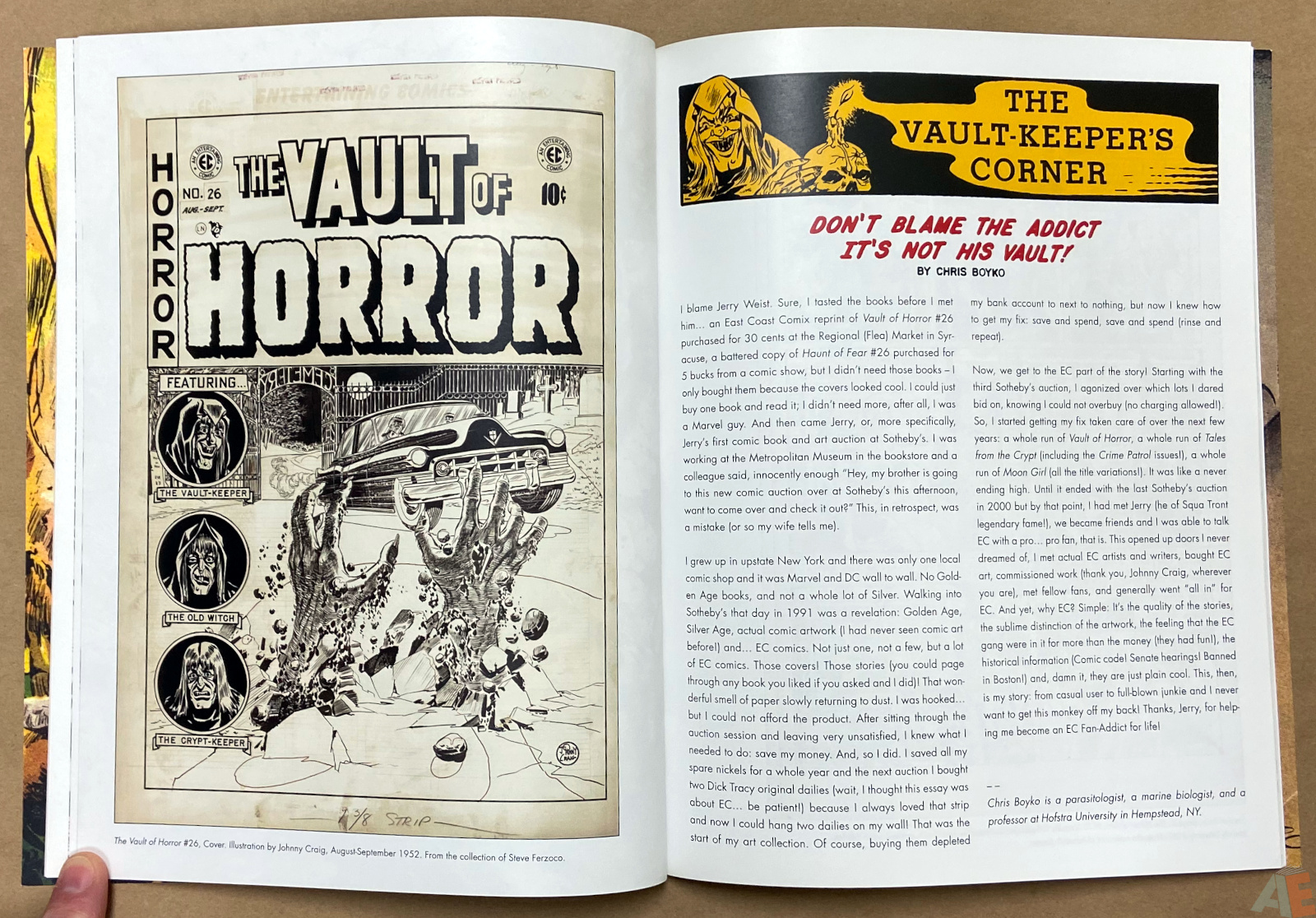Tales From The Crypt Exhibition Catalog interior 6
