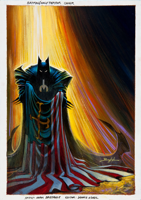 Batman Holy Terror cover by Norm Breyfogle
