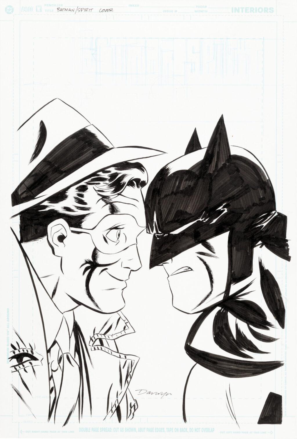 Batman The Spirit issue 1 cover by Darwyn Cooke