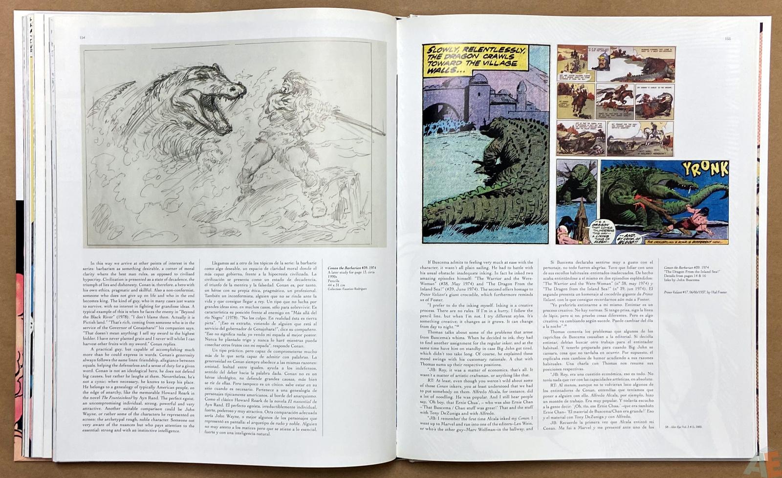 Big John Buscema Comics and Drawings interior 10