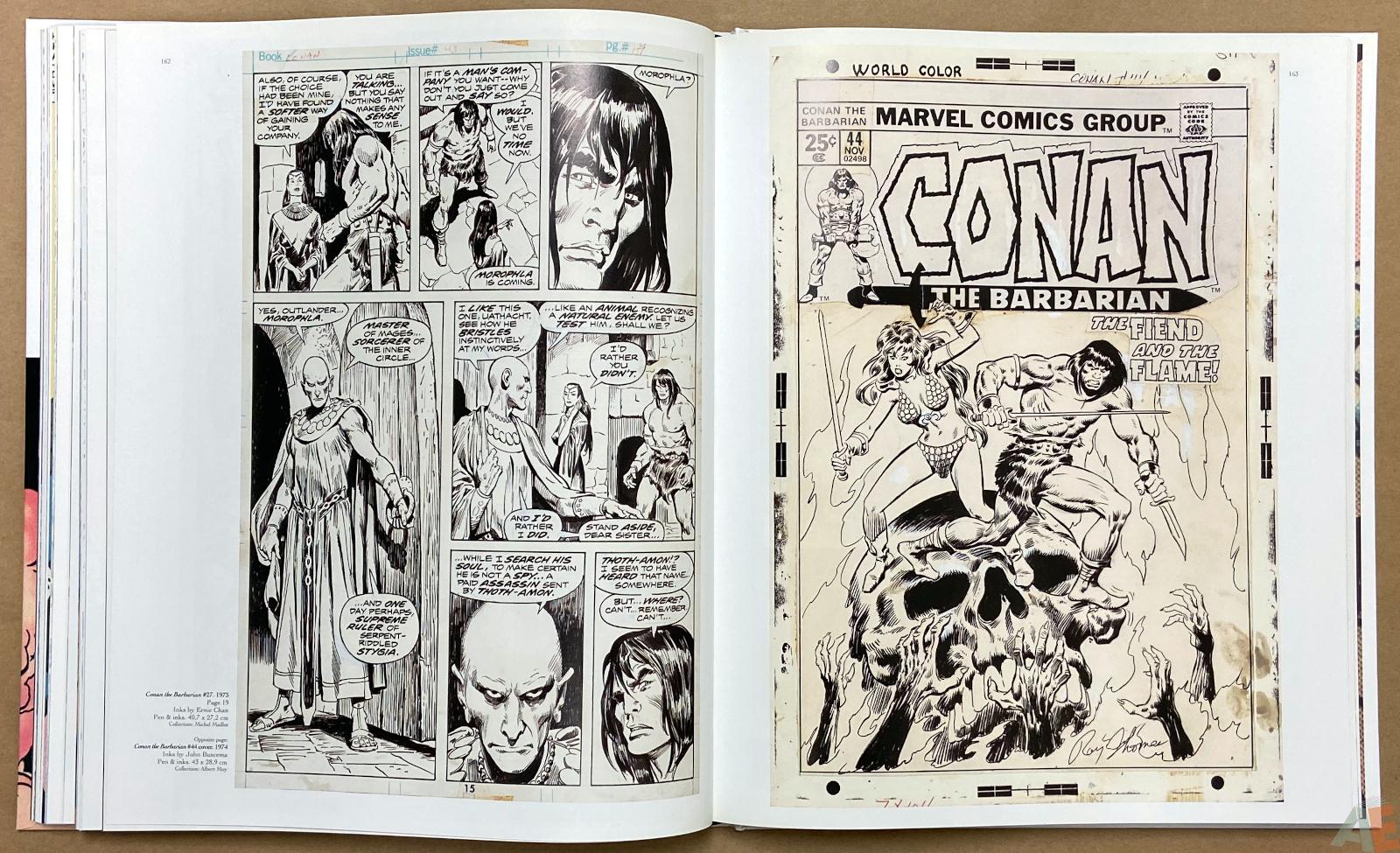 Big John Buscema Comics and Drawings interior 11