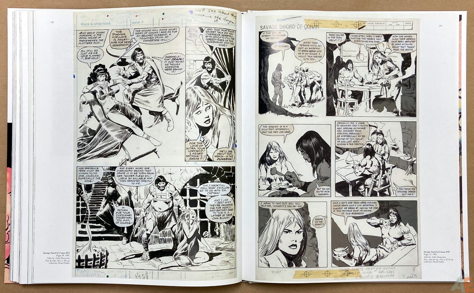 Big John Buscema Comics and Drawings interior 13