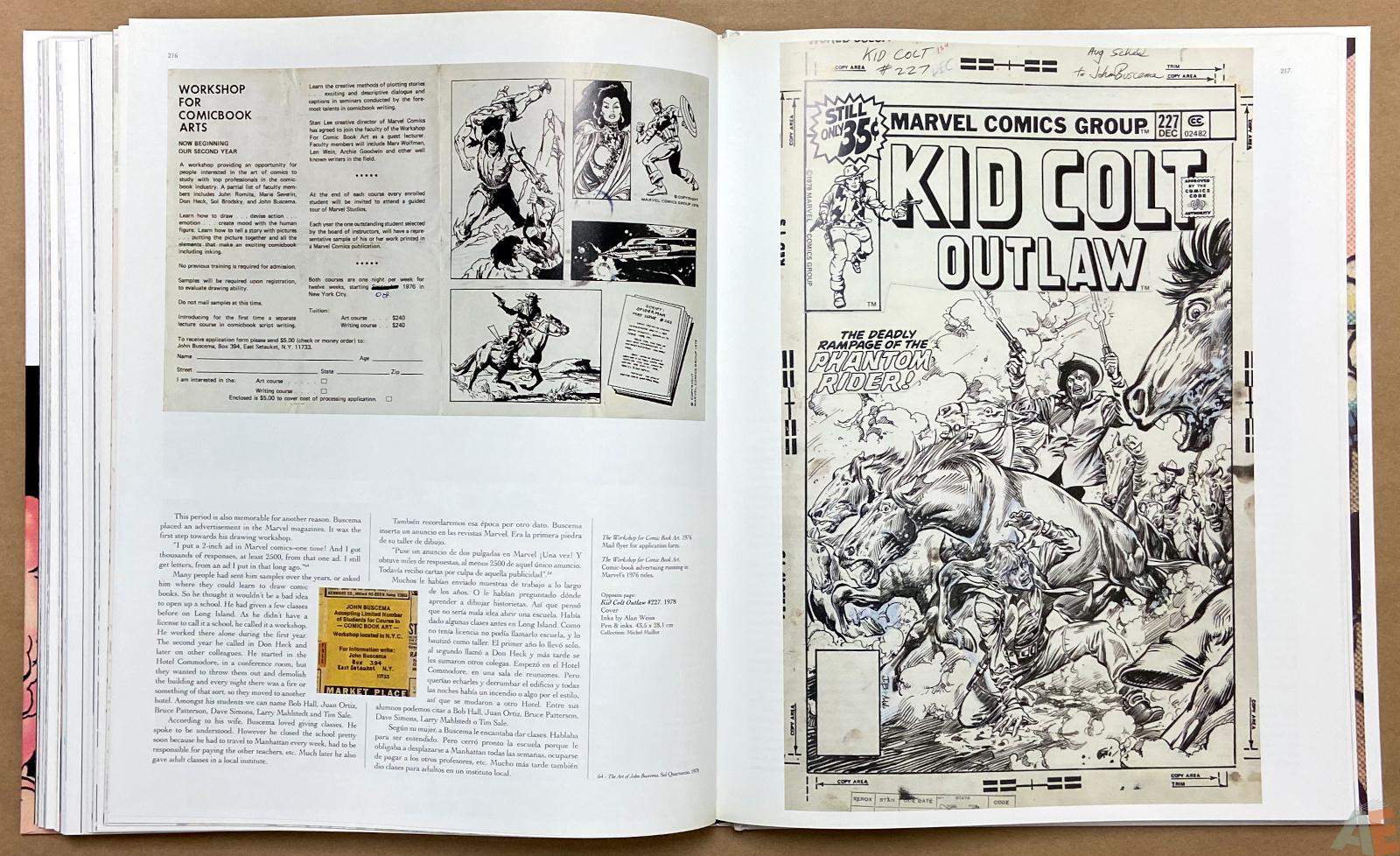 Big John Buscema Comics and Drawings interior 14