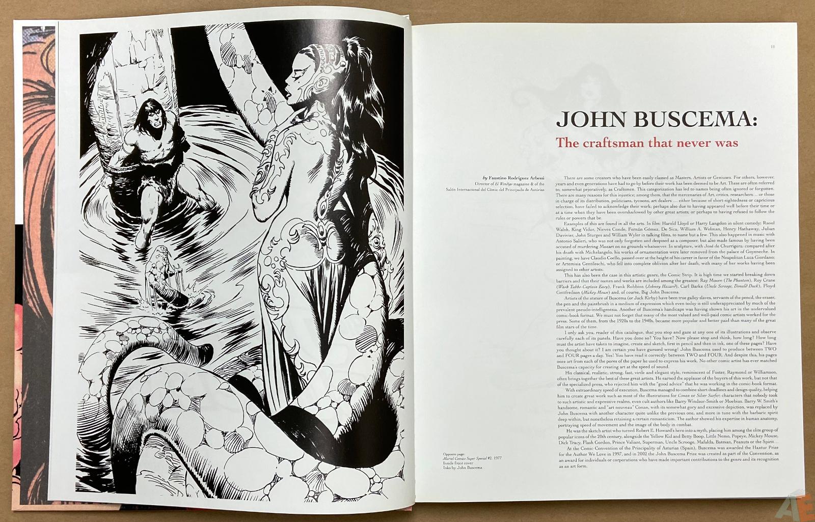 Big John Buscema Comics and Drawings interior 2