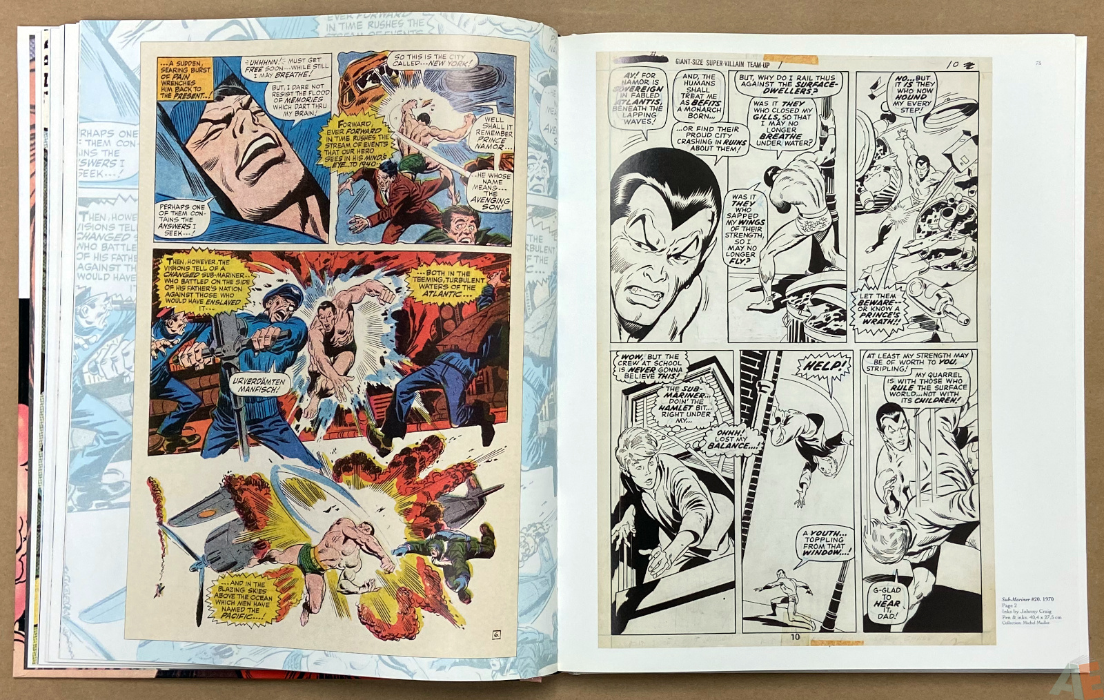 Big John Buscema Comics and Drawings interior 5