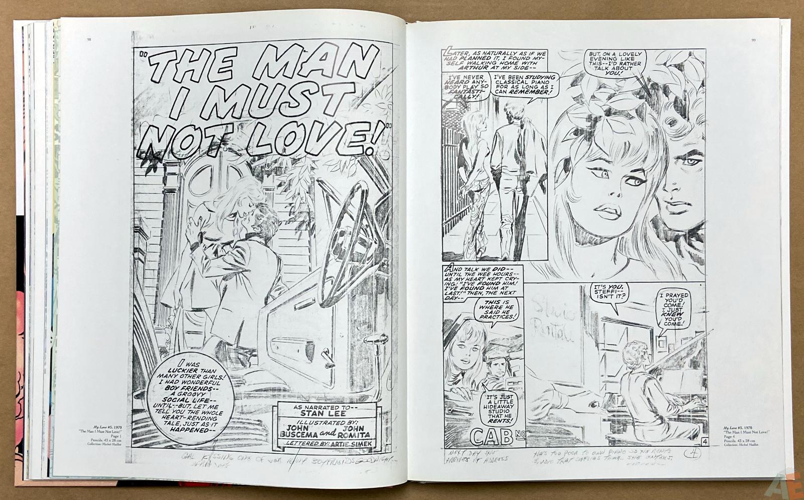Big John Buscema Comics and Drawings interior 7