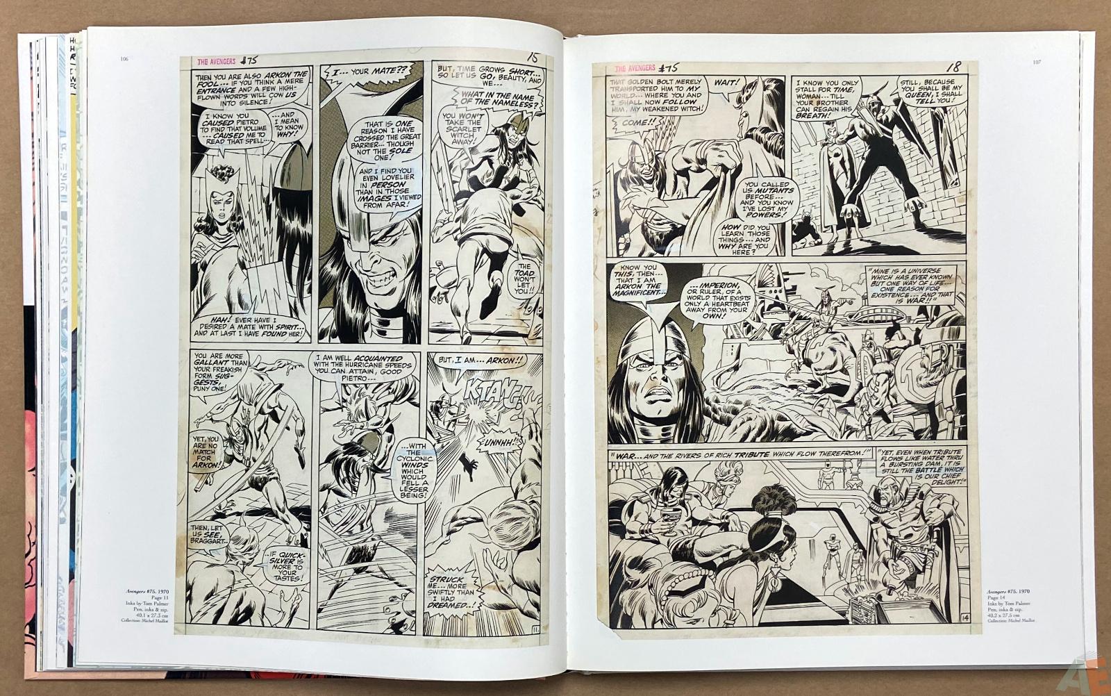 Big John Buscema Comics and Drawings interior 8