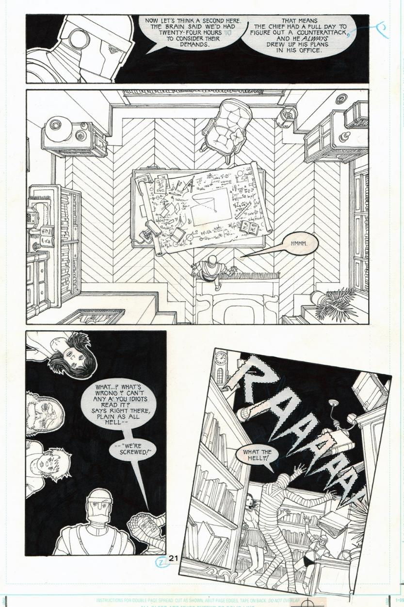 Doom Patrol issue 13 page 21 by Seth Fisher
