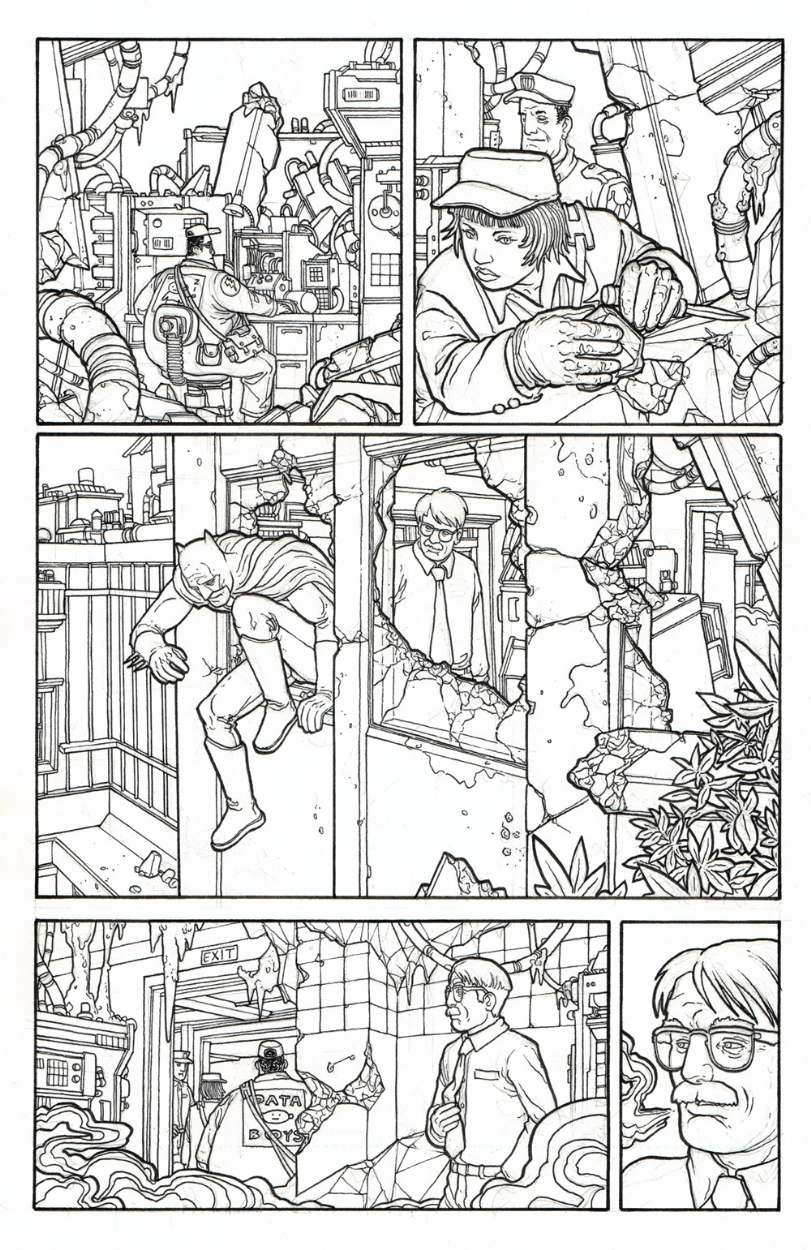 Legends Of The Dark Knight issue 194 page 13 by Seth Fisher