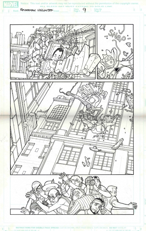 Spider Man Unlimited issue 8 page by Seth Fisher
