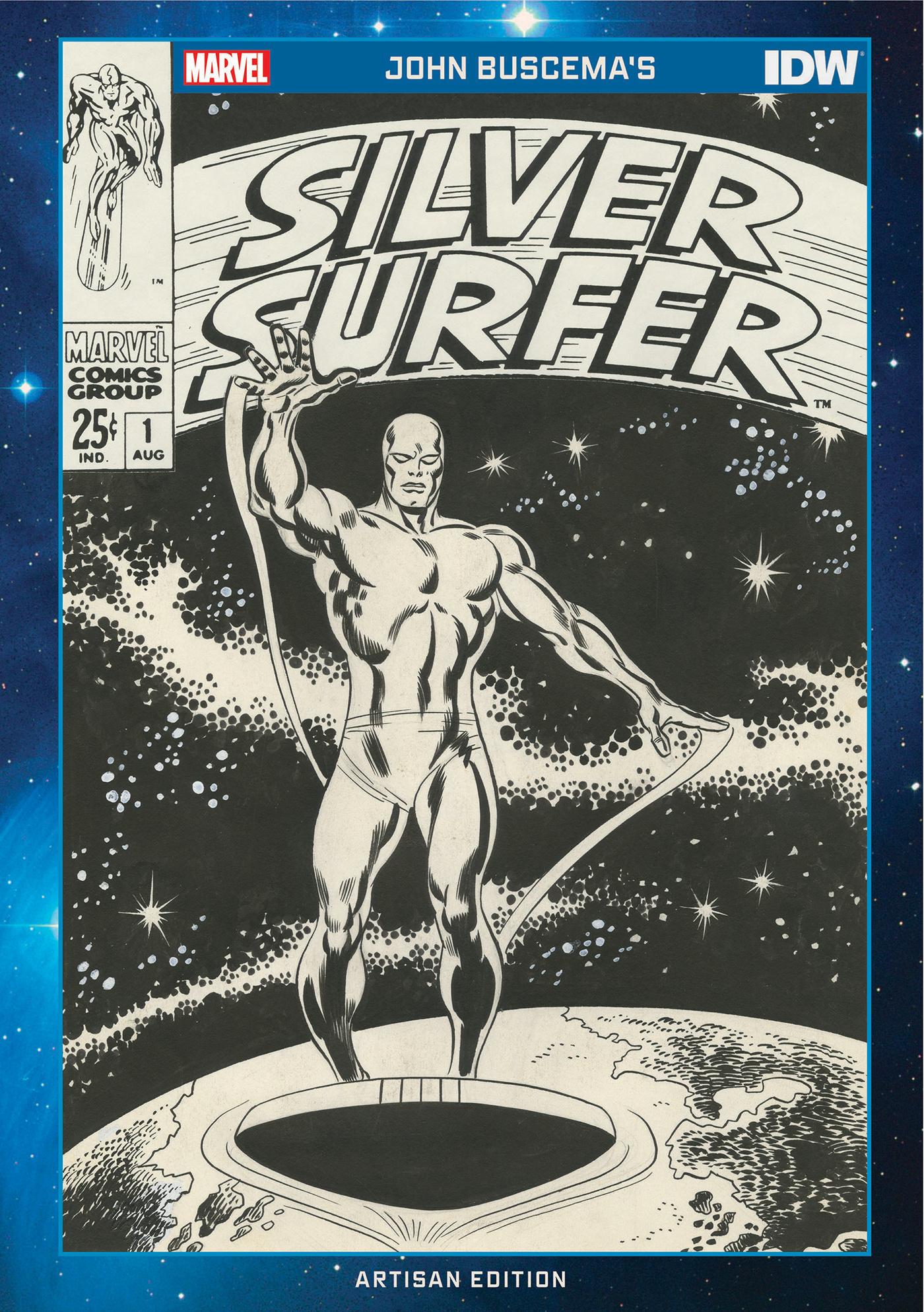 John Buscemas Silver Surfer Artisan Edition cover