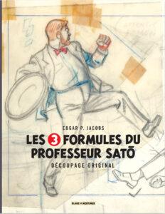 Les 3 Formules Du Professeur Sato Decoupage Original cover