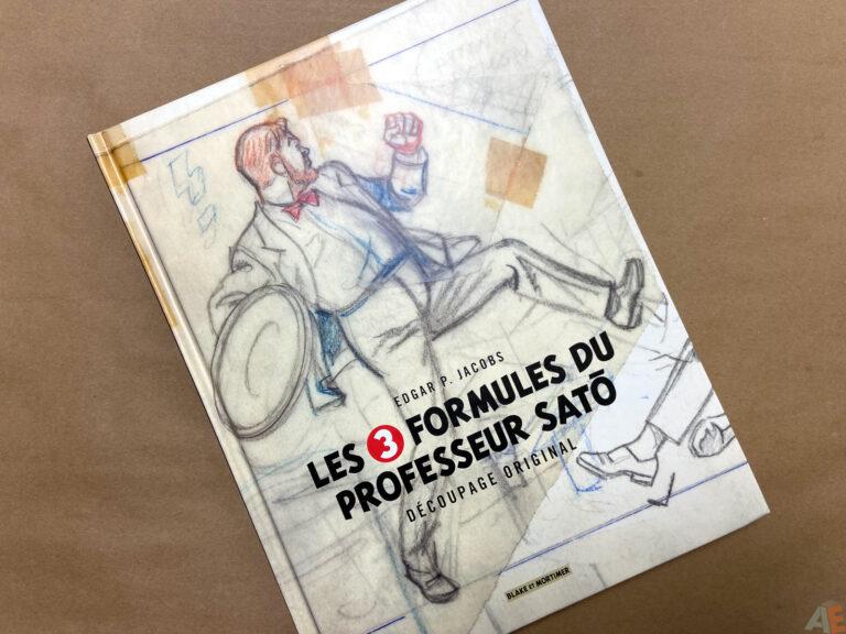 Les 3 Formules Du Professeur Sato Decoupage Original interior 10