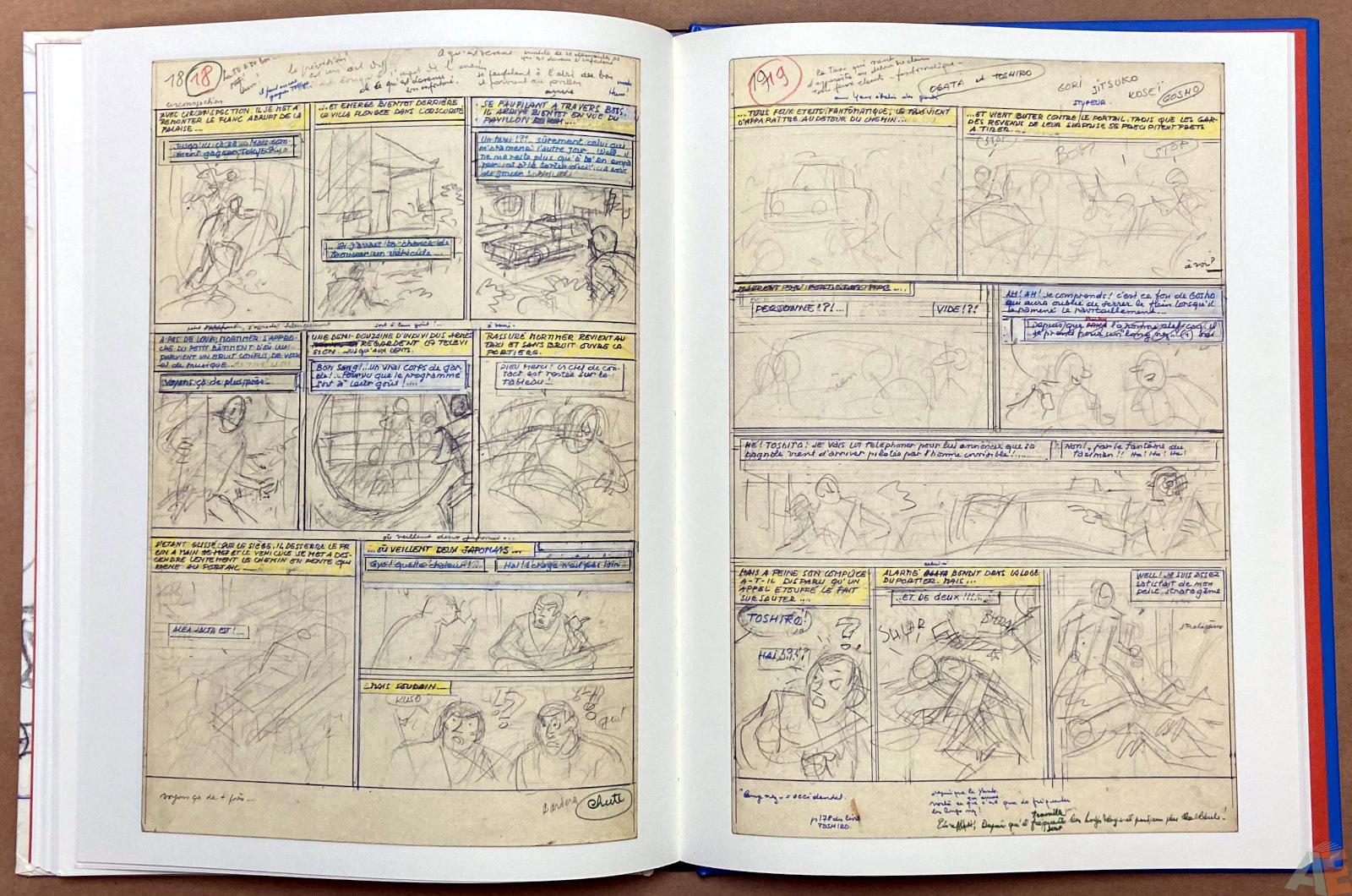 Les 3 Formules Du Professeur Sato Decoupage Original interior 7