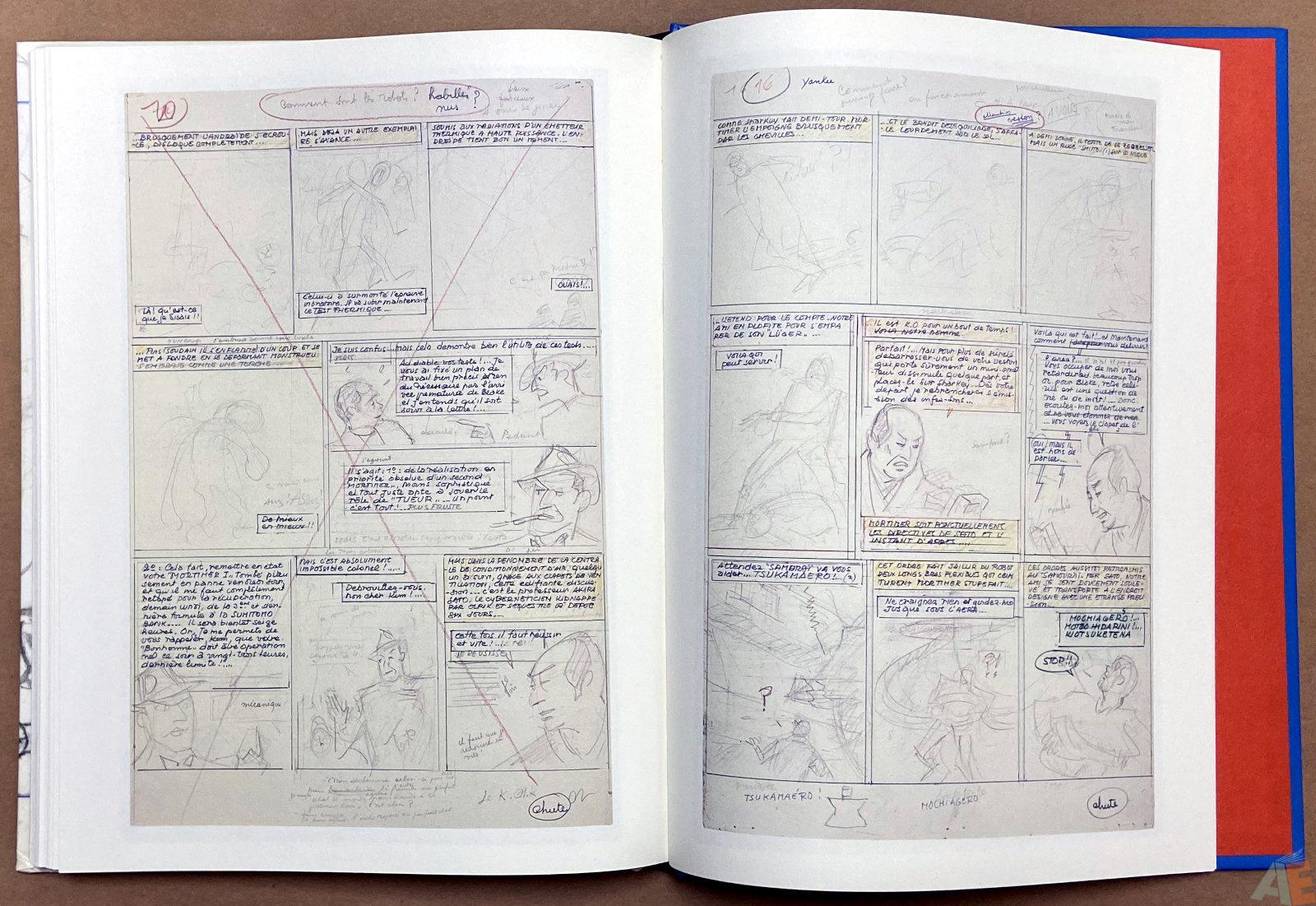 Les 3 Formules Du Professeur Sato Decoupage Original interior 9