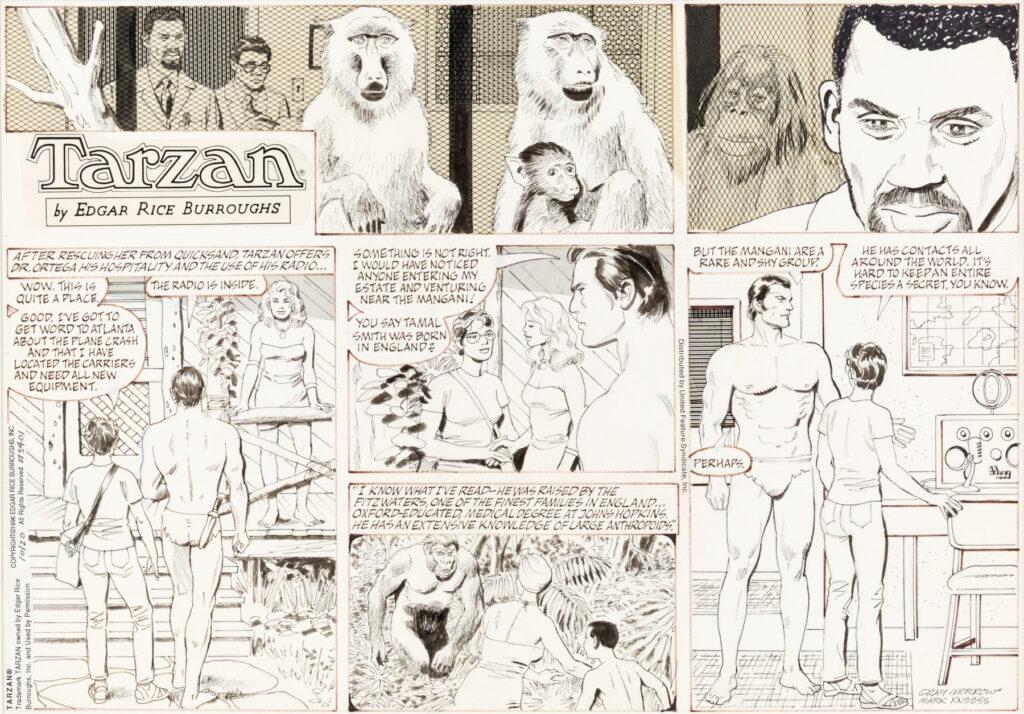 Tarzan Sunday 10 20 1996 by Gray Morrow